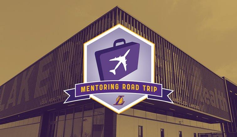 Lakers Mentoring Road Trip